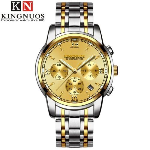 Đồng hồ kim dạ quang thời trang nam KINGNUOS cao cấp