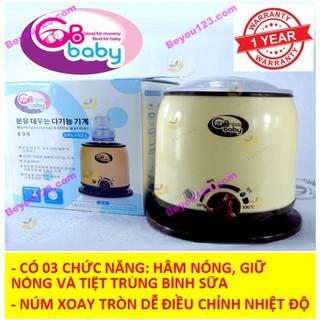 Máy hâm sữa và thức ăn-tiệt trùng 03 chức năng GB BABY [Màu vàng] - Máy hâm GB_VÀNG thumbnail