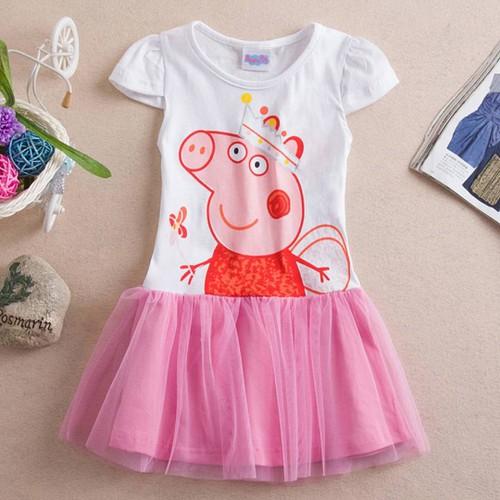Đầm Trẻ Em Váy Bé Gái Peppa Pig Cho Bé 1-2 Tuổi - 8280185 , 17796726 , 15_17796726 , 190000 , Dam-Tre-Em-Vay-Be-Gai-Peppa-Pig-Cho-Be-1-2-Tuoi-15_17796726 , sendo.vn , Đầm Trẻ Em Váy Bé Gái Peppa Pig Cho Bé 1-2 Tuổi