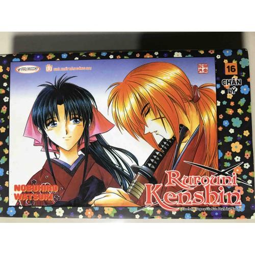 Ruroni Kenshin tập 16 Bìa rời New