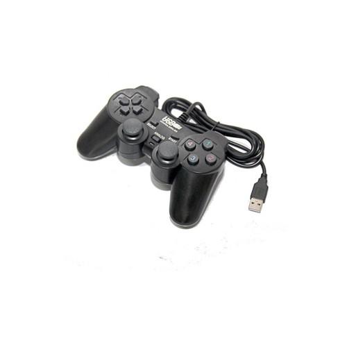 Tay cầm Game đơn cho PC Vibration Joypad có các nút bấm được thiết kế êm và có độ nhạy cao