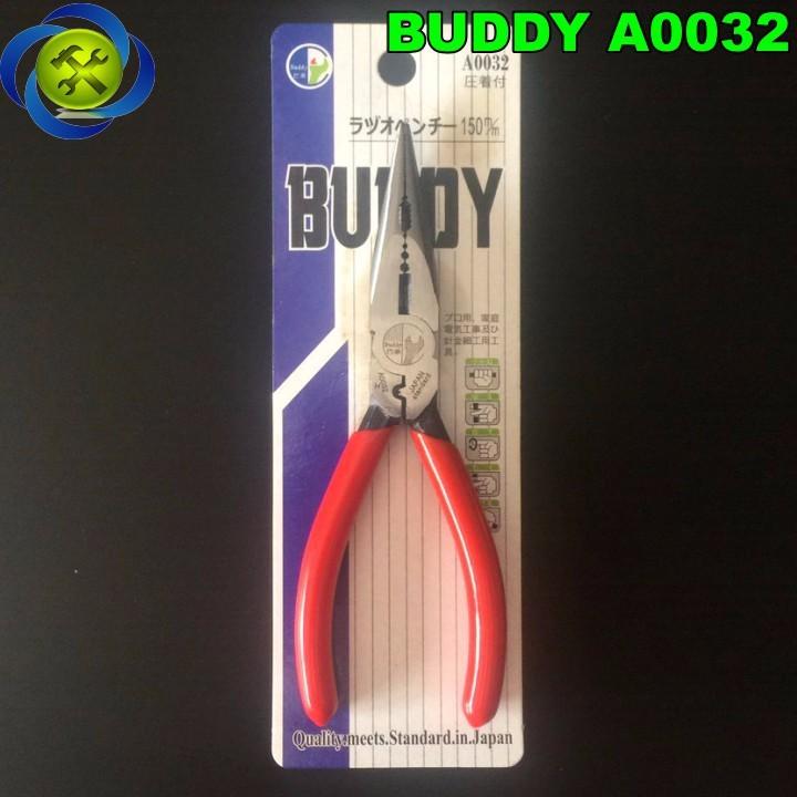 Kềm nhọn bấm cos Buddy A0032 kích thước 150mm 1