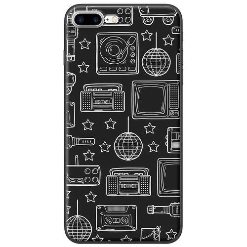 Ốp lưng nhựa dẻo Apple iPhone 7 Plus Bảng đen 3