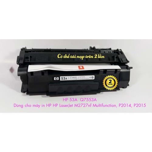 Hộp mực HP 53A Q7553A-Dùng cho máy in HP laserjet P2014, 2015, MFP M2727 - 7605891 , 17792807 , 15_17792807 , 310000 , Hop-muc-HP-53A-Q7553A-Dung-cho-may-in-HP-laserjet-P2014-2015-MFP-M2727-15_17792807 , sendo.vn , Hộp mực HP 53A Q7553A-Dùng cho máy in HP laserjet P2014, 2015, MFP M2727