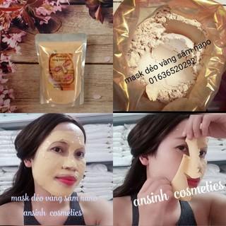 100g mặt nạ mask dẻo vàng nano gold 24k - 058 thumbnail