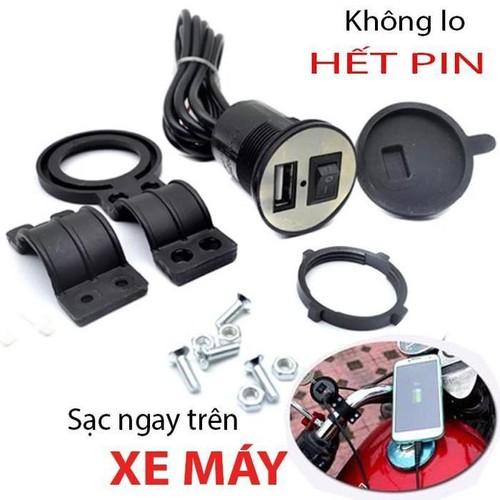 Bộ sạc điện thoại gắn trên xe máy đấu bình ắc quy tiện dụng không lo hết pin - 16967183 , 17202699 , 15_17202699 , 72000 , Bo-sac-dien-thoai-gan-tren-xe-may-dau-binh-ac-quy-tien-dung-khong-lo-het-pin-15_17202699 , sendo.vn , Bộ sạc điện thoại gắn trên xe máy đấu bình ắc quy tiện dụng không lo hết pin
