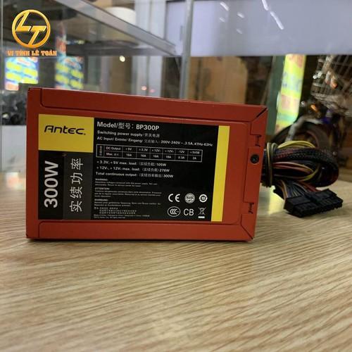 Nguồn máy tính Antec BP300P 300W công suất thực, có 6pin vga