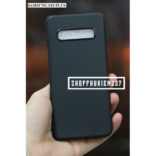 Ốp Lưng Samsung Galaxy S10 Plus Ốp Dẻo Đen Chống Sốc Cao Cấp