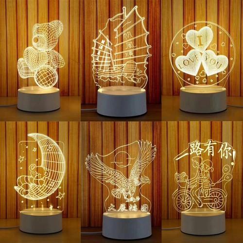 Đèn ngủ, đèn trang trí, Led 3D hình Hươu Có Công Tắc - 4822168 , 17206492 , 15_17206492 , 150000 , Den-ngu-den-trang-tri-Led-3D-hinh-Huou-Co-Cong-Tac-15_17206492 , sendo.vn , Đèn ngủ, đèn trang trí, Led 3D hình Hươu Có Công Tắc