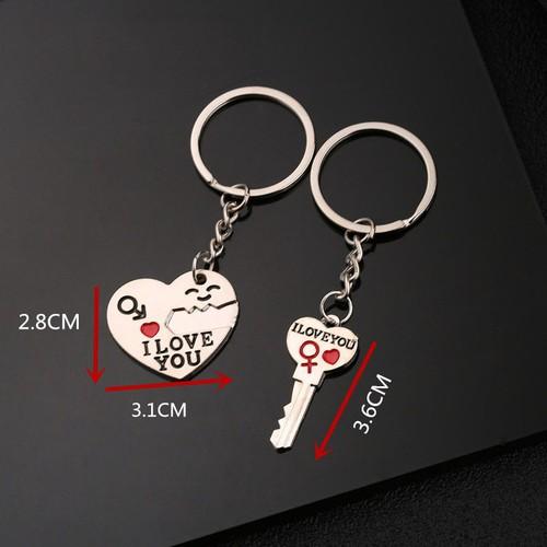 Móc chìa khóa I Love You