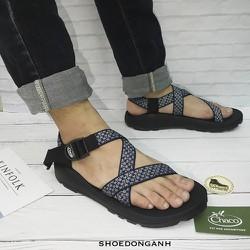 [BẢO HÀNH 1 NĂM]Giày sandal chaco - Giày sandal chaco xanh - Dép sandal chaco xanh