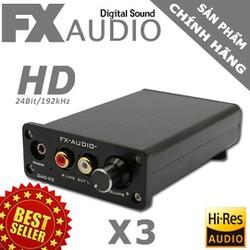 FX Audio X3 - Dac nghe nhạc lossless chất lượng cao Model Mới