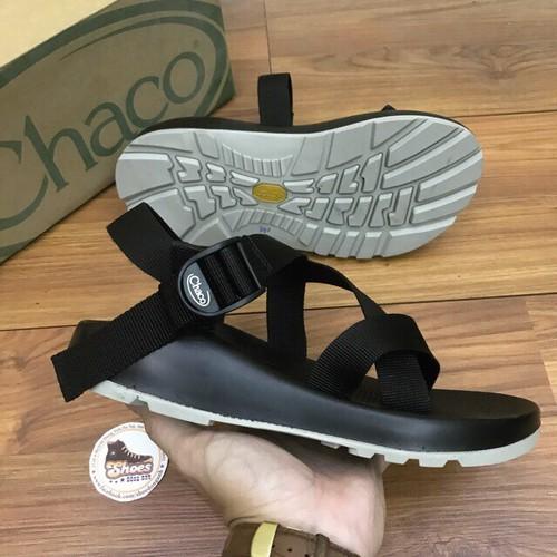 Giày sandal chaco - Giày sandal chaco xanh - Dép sandal chaco đế 2 màu