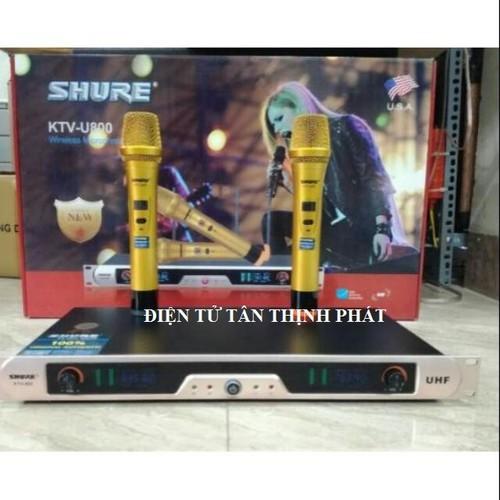 Micro không dây shure, KTV-U800 - 7477601 , 17188944 , 15_17188944 , 1570000 , Micro-khong-day-shure-KTV-U800-15_17188944 , sendo.vn , Micro không dây shure, KTV-U800