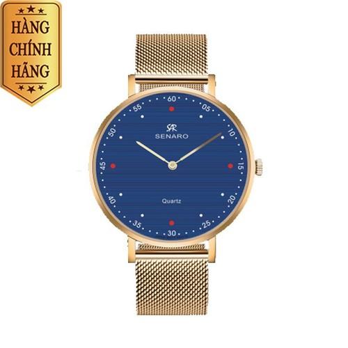 Đồng hồ nam SENARO Every Time Large 66017GSG - Đồng hồ Nhật Bản chính hãng