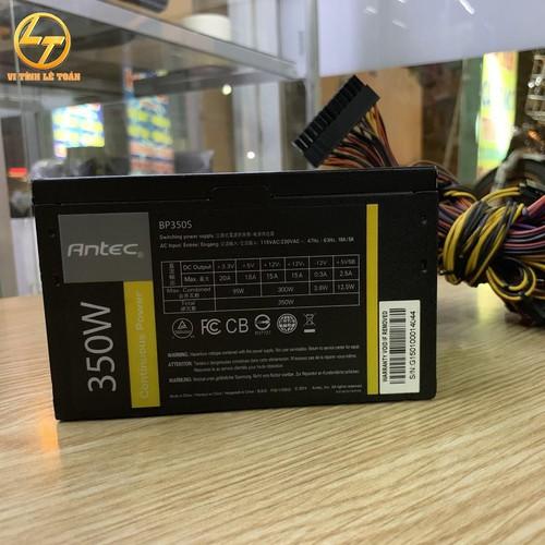 Bộ nguồn máy tính Antec BP350S 350W - Công suất thực, có 6pin vga - 11388490 , 17208661 , 15_17208661 , 370000 , Bo-nguon-may-tinh-Antec-BP350S-350W-Cong-suat-thuc-co-6pin-vga-15_17208661 , sendo.vn , Bộ nguồn máy tính Antec BP350S 350W - Công suất thực, có 6pin vga