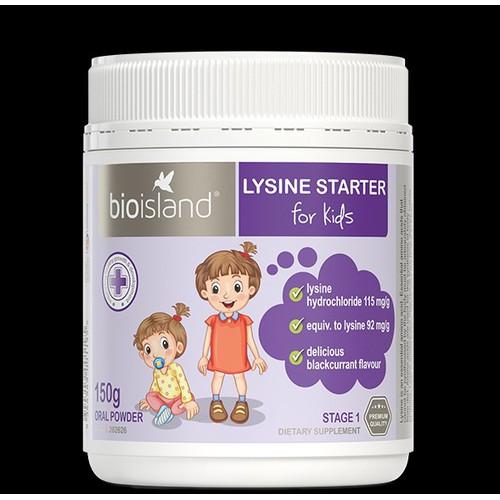 Bột tăng cân tăng chiều cao Bio Island Lysine Starter - Bioschieucao