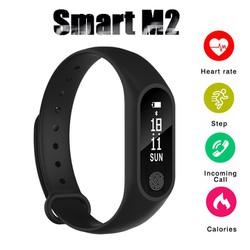 Vòng đeo tay thông minh Smart Band M2 Đo Nhịp Tim kết nối Bluetooth.Đồng hồ Thông Minh Chống Nước Vòng Tay Đồng Hồ Dây Đeo Tay Tập Thể Thao, Vòng Theo Dõi Sức khỏe, Vòng Theo dõi vận động