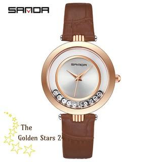 đồng hồ nữ dây da - đồng hồ nữ dây da GS2 thumbnail