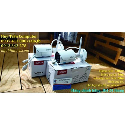 Camera Wifi 3MP Dahua IPC-HFW1320SP-W dùng cho nhà xe
