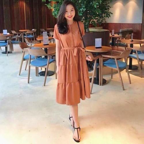 Váy suông Hàn Quốc - 7481759 , 17190582 , 15_17190582 , 268000 , Vay-suong-Han-Quoc-15_17190582 , sendo.vn , Váy suông Hàn Quốc