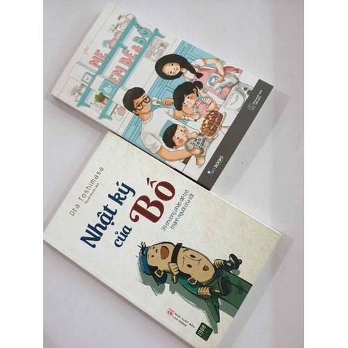 Sách nhật kí của bố & mẹ em bé và bố