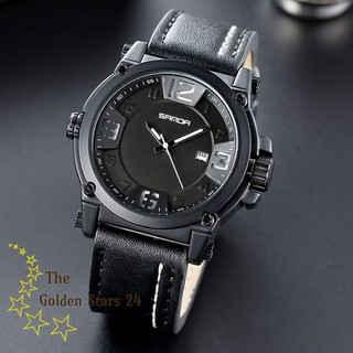 đồng hồ nam dây da - đồng hồ nam dây da SS thumbnail