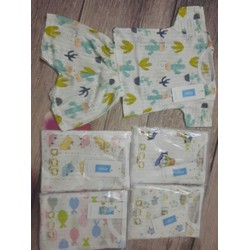 5 bộ cộc cotton giấy