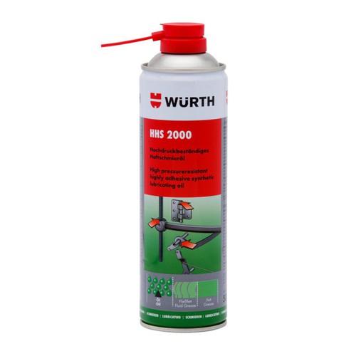HHS2000 mỡ bò bôi trơn dạng xịt Wurth Adhesive Lubricant HHS 2000