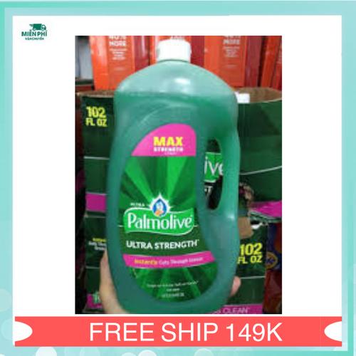 Sỉ 3 thùng nước rửa chén tẩy sạch dầu mỡ  Palmolive|nuoc rua chen palmolive xuất xứ Mỹ 3 lít
