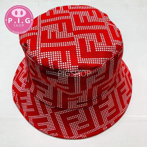 Nón bucket,nón vành chữ F thời trang
