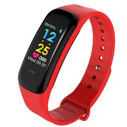 Vòng đeo tay thông minh Wearfit C1 Plus màn hình màu cảm ứng, Đồng hồ thông minh chống nước, Đồng hồ thông minh có bluetooth , Đồng hồ thông minh giá rẻ - Vòng tay thông minh, vòng theo dõi vận động