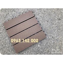 set 22 vỉ gỗ nhựa ngoài trời kt 30x30cm, MS02