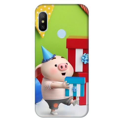 Ốp lưng nhựa cứng nhám dành cho Xiaomi Redmi 6 Pro in hình Heo Con Mừng Sinh Nhật - 11436581 , 17205336 , 15_17205336 , 99000 , Op-lung-nhua-cung-nham-danh-cho-Xiaomi-Redmi-6-Pro-in-hinh-Heo-Con-Mung-Sinh-Nhat-15_17205336 , sendo.vn , Ốp lưng nhựa cứng nhám dành cho Xiaomi Redmi 6 Pro in hình Heo Con Mừng Sinh Nhật