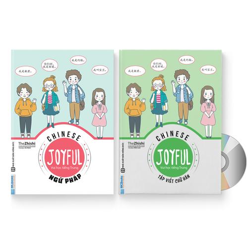 Combo 2 Sách: Joyful Chinese – Vui Học Tiếng Trung – Ngữ Pháp + Joyful Chinese – Tập Viết Chữ Hán + DVD Quà Tặng - 4647120 , 17202967 , 15_17202967 , 165000 , Combo-2-Sach-Joyful-Chinese-Vui-Hoc-Tieng-Trung-Ngu-Phap-Joyful-Chinese-Tap-Viet-Chu-Han-DVD-Qua-Tang-15_17202967 , sendo.vn , Combo 2 Sách: Joyful Chinese – Vui Học Tiếng Trung – Ngữ Pháp + Joyful Chinese