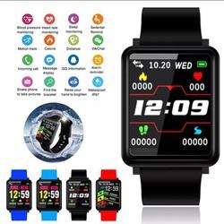 Vòng Đeo Tay Thông Minh Smart Bracelet F1,Thể Thao phù hợp cả nam và nữ Smartwatch đo lượng không khí, Huyết Áp, Đồng Hồ, nhịp tim, bước chân, cảnh báo lượng nước, vận động, thông báo cuộc gọi, tin nhắn.. phù hợp các hệ điều hành Androi