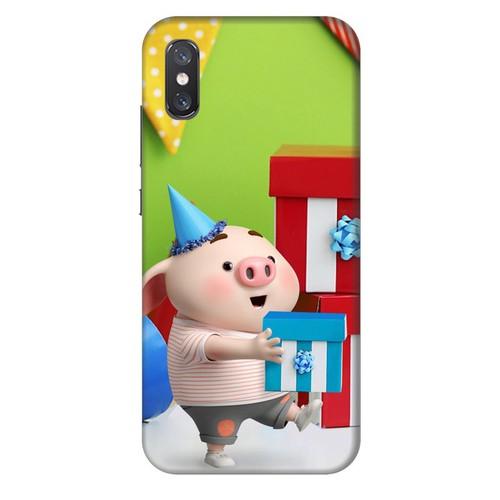 Ốp lưng nhựa cứng nhám dành cho Xiaomi Mi 8 Pro in hình Heo Con Mừng Sinh Nhật - 11436340 , 17205019 , 15_17205019 , 99000 , Op-lung-nhua-cung-nham-danh-cho-Xiaomi-Mi-8-Pro-in-hinh-Heo-Con-Mung-Sinh-Nhat-15_17205019 , sendo.vn , Ốp lưng nhựa cứng nhám dành cho Xiaomi Mi 8 Pro in hình Heo Con Mừng Sinh Nhật