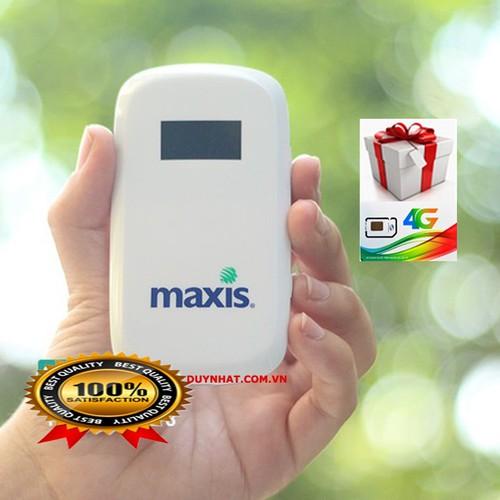 MÁY PHÁT WIFI 3G 4G MAXIS MF60 - CHẤT LƯỢNG NHẬT, GIÁ TỐT