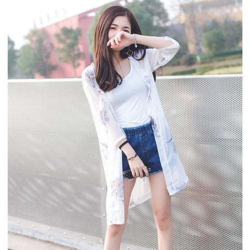 Áo choàng nữ mùa hè