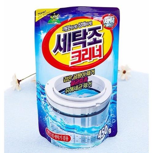 Bột Tẩy Vệ Sinh Lồng Máy Giặt Hàn Quốc 450G - 11436723 , 17206057 , 15_17206057 , 35000 , Bot-Tay-Ve-Sinh-Long-May-Giat-Han-Quoc-450G-15_17206057 , sendo.vn , Bột Tẩy Vệ Sinh Lồng Máy Giặt Hàn Quốc 450G