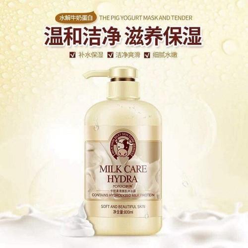 Chai Sữa Tắm Con Bò Milk Care Hydra 800ml - Chính Hãng - 7479478 , 17189535 , 15_17189535 , 298000 , Chai-Sua-Tam-Con-Bo-Milk-Care-Hydra-800ml-Chinh-Hang-15_17189535 , sendo.vn , Chai Sữa Tắm Con Bò Milk Care Hydra 800ml - Chính Hãng
