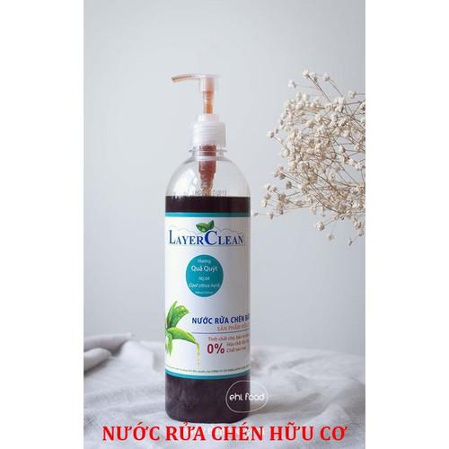 Nước rửa chén bát hữu cơ hương Hoa Hồng -800ml- Layer Clean - 4646824 , 17200390 , 15_17200390 , 32000 , Nuoc-rua-chen-bat-huu-co-huong-Hoa-Hong-800ml-Layer-Clean-15_17200390 , sendo.vn , Nước rửa chén bát hữu cơ hương Hoa Hồng -800ml- Layer Clean