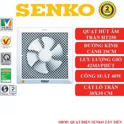 Quạt hút gió âm trần Senko HT250 chính hãng