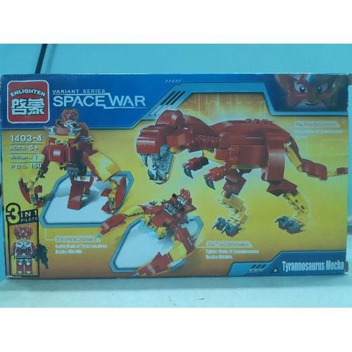 non-lego enlighten khủng long bạo chúa robot 5 in 1 - 4646845 , 17200416 , 15_17200416 , 109000 , non-lego-enlighten-khung-long-bao-chua-robot-5-in-1-15_17200416 , sendo.vn , non-lego enlighten khủng long bạo chúa robot 5 in 1