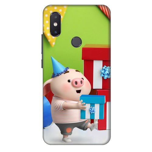 Ốp lưng nhựa cứng nhám dành cho Xiaomi Mi 8SE in hình Heo Con Mừng Sinh Nhật - 11436694 , 17205695 , 15_17205695 , 99000 , Op-lung-nhua-cung-nham-danh-cho-Xiaomi-Mi-8SE-in-hinh-Heo-Con-Mung-Sinh-Nhat-15_17205695 , sendo.vn , Ốp lưng nhựa cứng nhám dành cho Xiaomi Mi 8SE in hình Heo Con Mừng Sinh Nhật