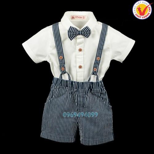 Sét bộ đồ quần áo yếm dây trơn màu sơ mi bé trai vải cotton co dãn Việt Nam cho trẻ em tuổi 6 - 36 tháng dưới 15 kg - 7495484 , 17196885 , 15_17196885 , 255000 , Set-bo-do-quan-ao-yem-day-tron-mau-so-mi-be-trai-vai-cotton-co-dan-Viet-Nam-cho-tre-em-tuoi-6-36-thang-duoi-15-kg-15_17196885 , sendo.vn , Sét bộ đồ quần áo yếm dây trơn màu sơ mi bé trai vải cotton co dãn
