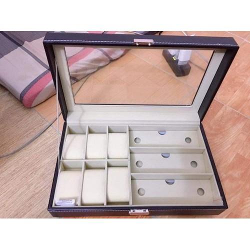 hộp đựng phụ kiện kính và đồng hồ