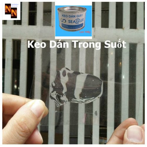 Keo Dán Giày SeaGlue 100gr Bám Dính,Chịu Nước Tốt