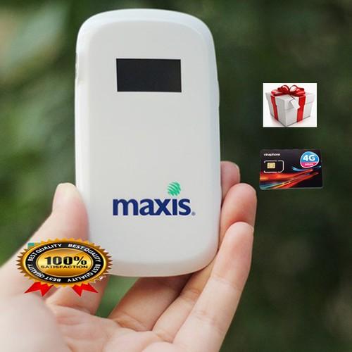 Router Wifi Di Động Maxis MF60 - Khuyến Mại Sim Data Khủng