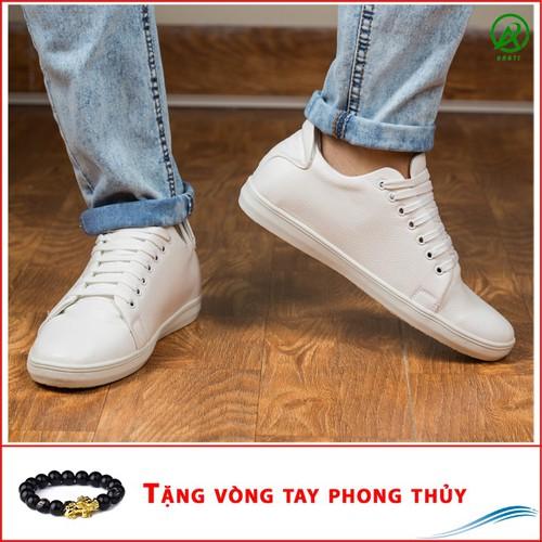 Giày Thể Thao Nam Màu Đen Tăng Chiều Cao 6Cm Không Hề Lộ Cực Đẹp - Cực Chất - M360-DEN|040419